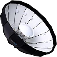 Pro Studio Solutions EZ-Pro 24in Collapsible Beauty Dish and Softbox Combination w/ Broncolor Impact Speedring
