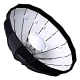 Fotodiox EZ-Pro 24in (50cm) Collapsible Beauty Dish Softbox with Elinchrom Speedring Insert