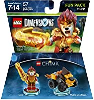 LEGO Dimensions Fun Pack Chima Laval - Chima Laval Edition