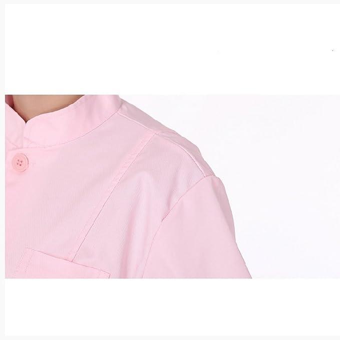 Enfermera De Médicos Fabricantes Supply 85 & 37; Algodón Medical Nurse Monos Blancos Hot Tanda, Rosa, S: Amazon.es: Ropa y accesorios