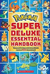 The new edition of the bestselling Deluxe Essential Handbook is here - and it includes all-new Pokémon! With 496 color pages and info on over 800 Pokémon, this is a must-have for kids of all ages.If you want to catch 'em all, you gotta...