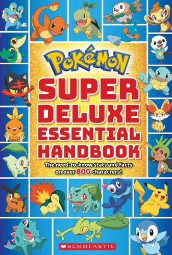 Super Deluxe Essential Handbook (Pokémon): The Need-to-Know Stats and Facts on Over 800 Characters (Dolls Manga)