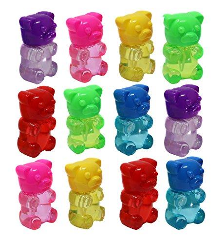 SN Incorp. Gummy Bear Bubble Bottles for Kids