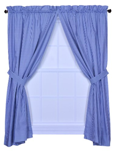 Check Tailored Curtain - 3