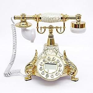 Moda Europea princesa tel¨¦fono antig¨¹edades decorativos de la casa de moda creativas, tel¨¦fono fijo con cable de tel¨¦fono