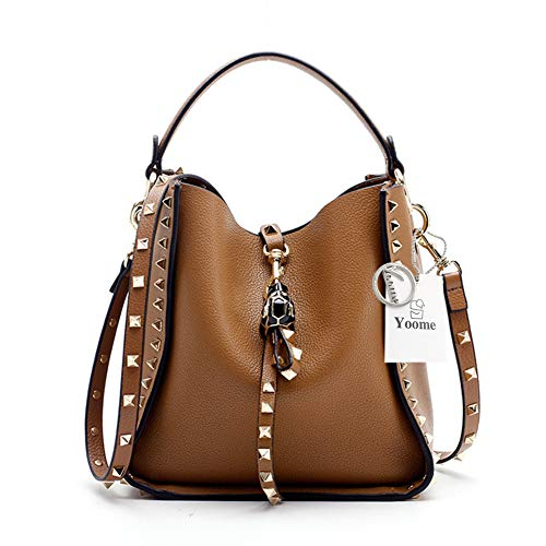 Tracolla Donna A Pink Small large Yoos075 Brown Borsa Yoome vgnfOv