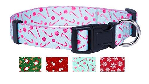 Christmas Dog Collar (Small, Candy (Candy Cane Dog Collar)