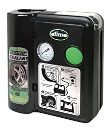 Slime 70005 Safety Spair 7-Minute Flat Tire Repair System