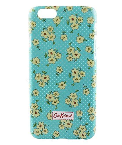 Monkey Cases® iPhone 6 - 4,7 Zoll - Buntes Blumen Kunststoff Case for iPhone 6 - Gelbe Blumen - Handyhülle - ORIGINAL - NEU/OVP - Blue Yellow Flowers