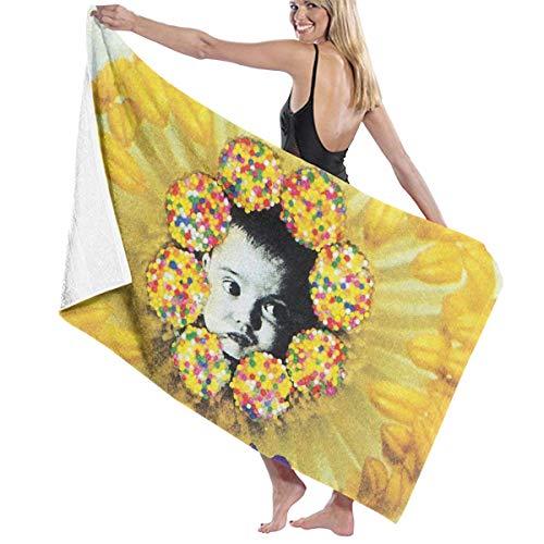 Mabb Radiohead Pablo Honey Bath Towel Beach/Pool Towel Adult Quick Dry Towel for Yoga Gym Beach 51