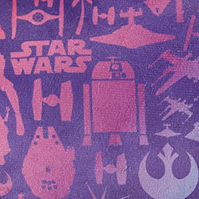 Jay Franco Star Wars Forces of Destiny Decorative Pillow, Purple: Home & Kitchen