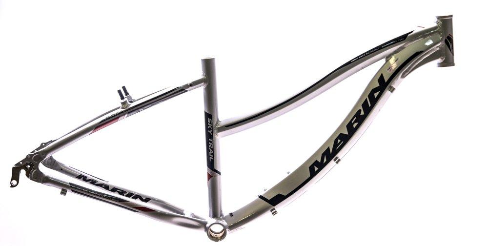 17'' MARIN SKY TRAIL 26'' Women's Hybrid / Comfort Bike Frame Silver NOS NEW