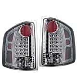 1994-2002 GM S10 S15 Isuzu Hombre Chrome Diamond Cut Tail Light Lamp