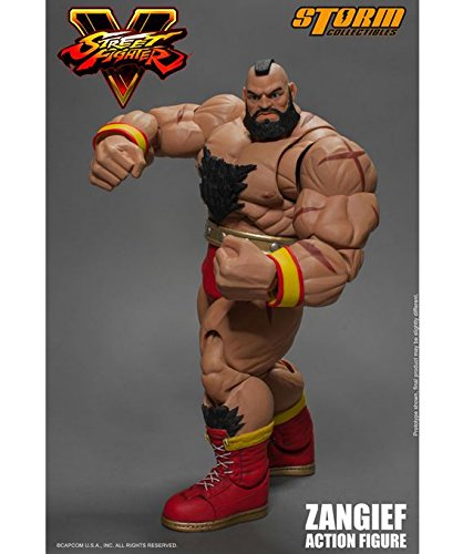 Storm Collectibles Street Fighter V Zangief 1/12 Scale Action Figure