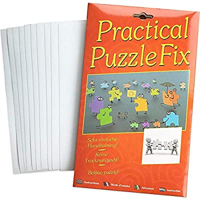 Puzzle Saver Puzzle Accessories, 13 Pcs Puzzle Saver Peel and Stick Adhesive Paper Best Way to Preserve Puzzles, Up to 1500 Pieces: Health & Personal Care