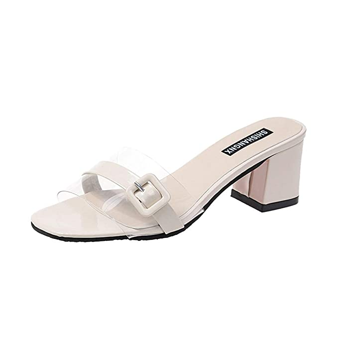 Darringls Sandalias de Vestir para Mujer Verano 2019 Moda ...