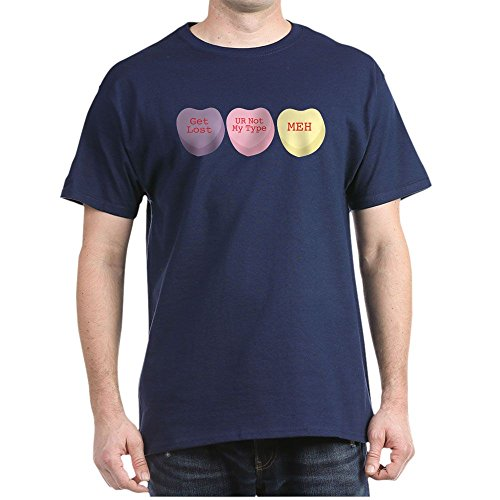 Personalized Conversation Hearts - CafePress Anti-Conversation Hearts - 100% Cotton T-Shirt