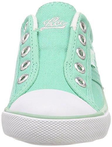 Lico Mädchen Conny Slip On Sneaker Grün (Mintgruen Mintgruen)