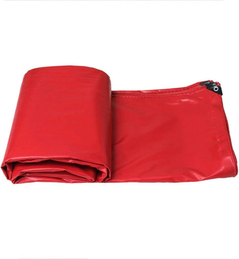 防水布キャノピー屋外日除け布トラックタパリン (Color : 赤, Size : 3m*2m) 赤 3m*2m