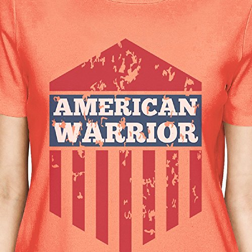 365 donna American monopezzo T da Warrior corte maniche shirt a Stampa x0z8wqpr0