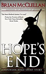 Hope's End: A Powder Mage Short Story (Powder Mage series) (English Edition)