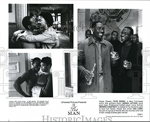 Press Photo Universal presents The Best Man with Nia Long, Taye Diggs, and - 8 x 10 in. - Historic Images (Taye Diggs Best Man)