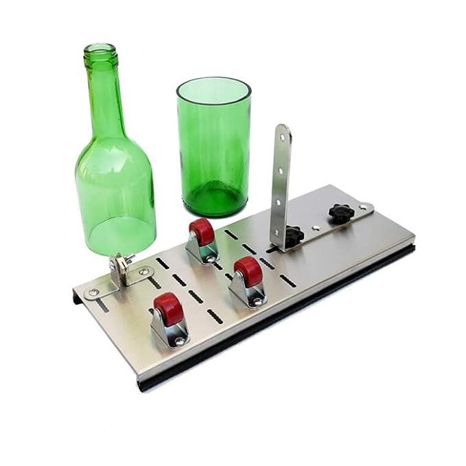 Cortador de botella de vidrio, kit de cortador de botella de ...