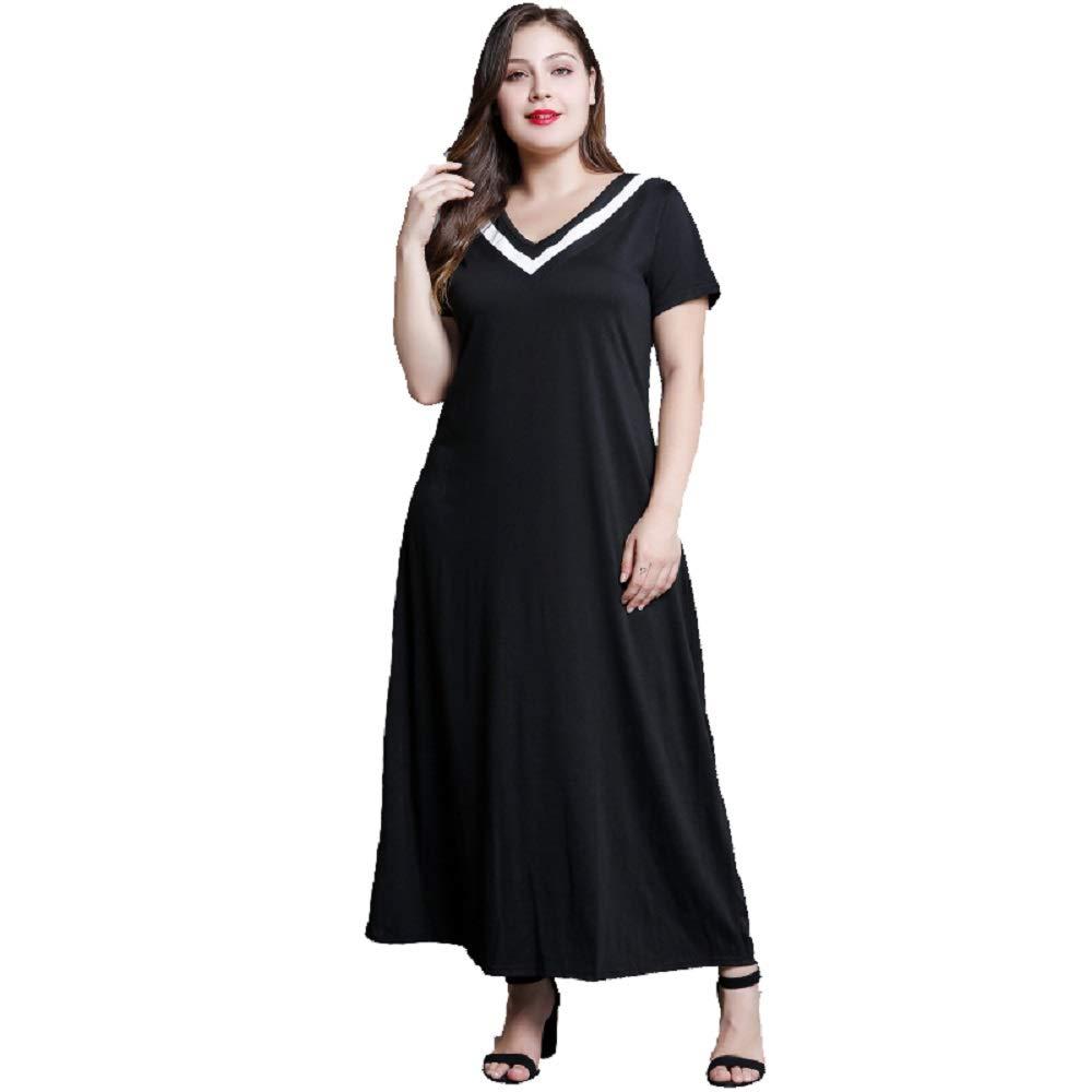 983a95d43b5 Womens Plus Size Black Maxi Dress