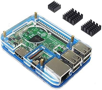 para Raspberry Pi 3 Model b Caja disipador de Calor, Compatible ...