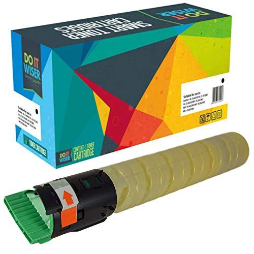 Do it Wiser Compatible Toner Cartridge Replacement for Ricoh Aficio MP C2551 MP C2051 MP C2550 MP C2050 | 841501 (Yellow 9,500 Pages) ()