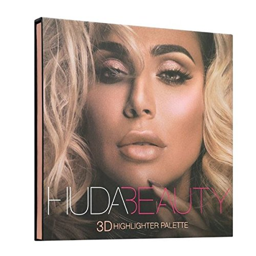 HUDABEAUTY フーダビューティ ハイライト 3D HIGHLIGHTER PALETTE  PINK SANDS B07C7PFTYH