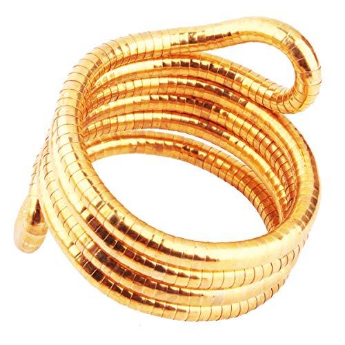 GVUSMIL Bendable Snake Twistable Necklace Bracelet Scarf Holder (Most Wished&Gift -
