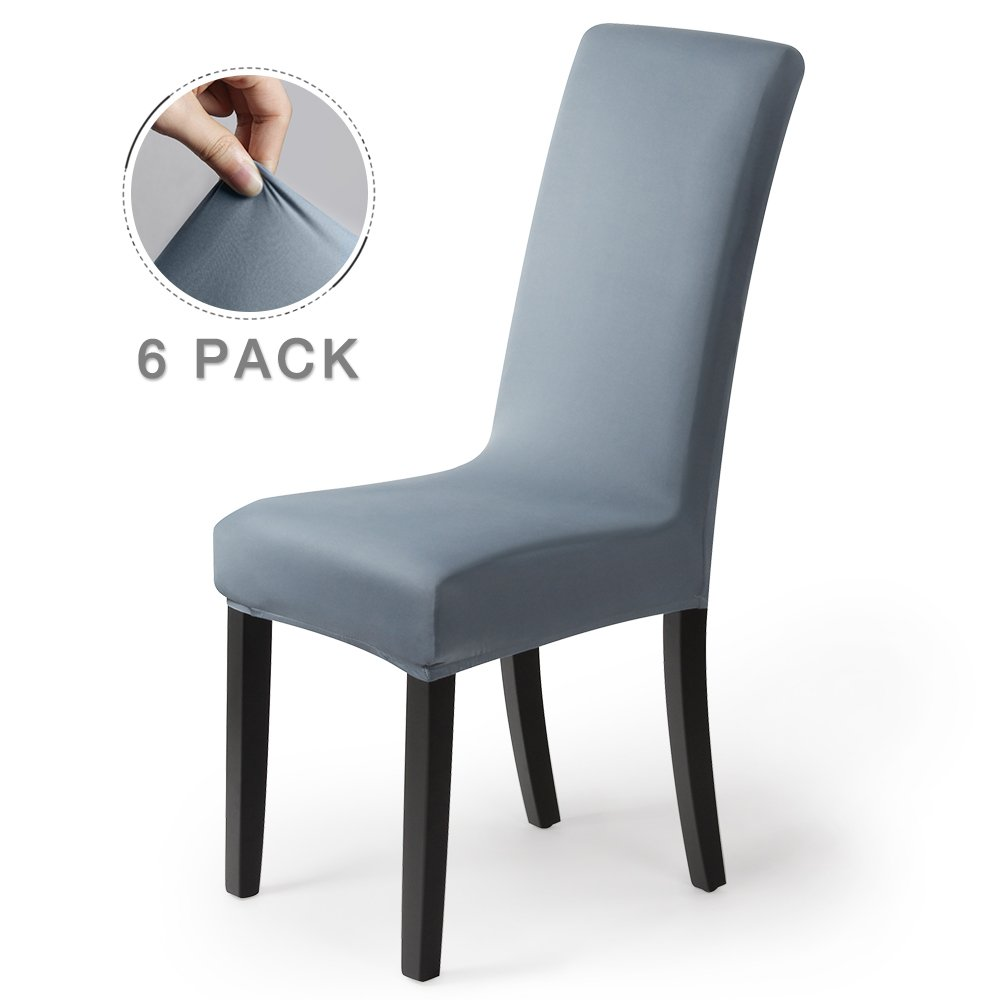 Spandex Stretch Slipcover Banquet Dinning Large Back Seat Chair Covers Protector