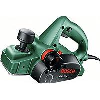 Bosch PHO 20-82 HomeSeries Hobel + Hartmetallwendehobelmesser (680 W, 0-8 mm Falzrtiefe, 82 mm Hobelbreite)
