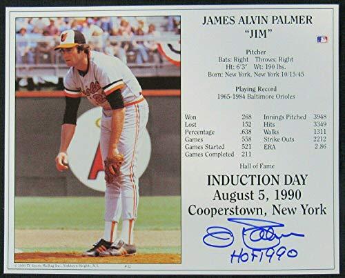 Jim Palmer Autographed Photo - 8x10 III - Autographed MLB Photos
