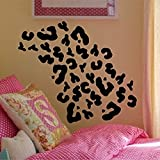 Cheetah Print Wall Decal Interior Home Vinyl Art Wall Decor For Kids  Bedroom Decoration Sticker Part 62