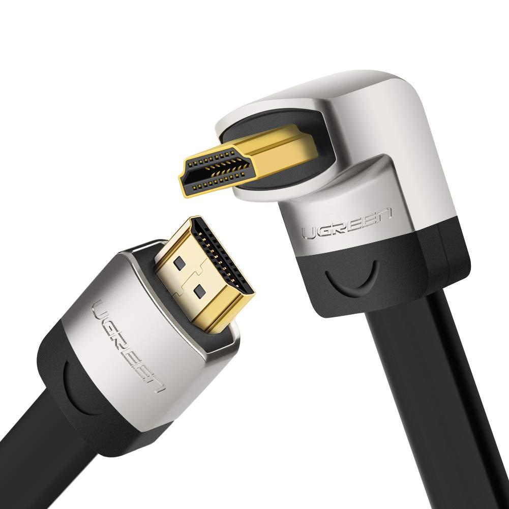 Ugreen 10279 2m HDMI HDMI Negro, Plata Cable HDMI - Cables HDMI (2 m