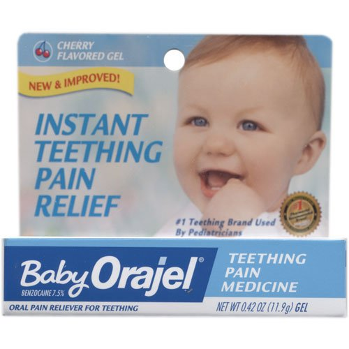 Bébé Orajel Teething Soulagement