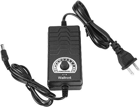 Verstellbar Ac Zu Dc Netzteil Adapter Konverter Ac 100 240 V Zu Dc 1 24 V 2 A Us Plug Für Elektro Fan Motor Speed Controller Auto