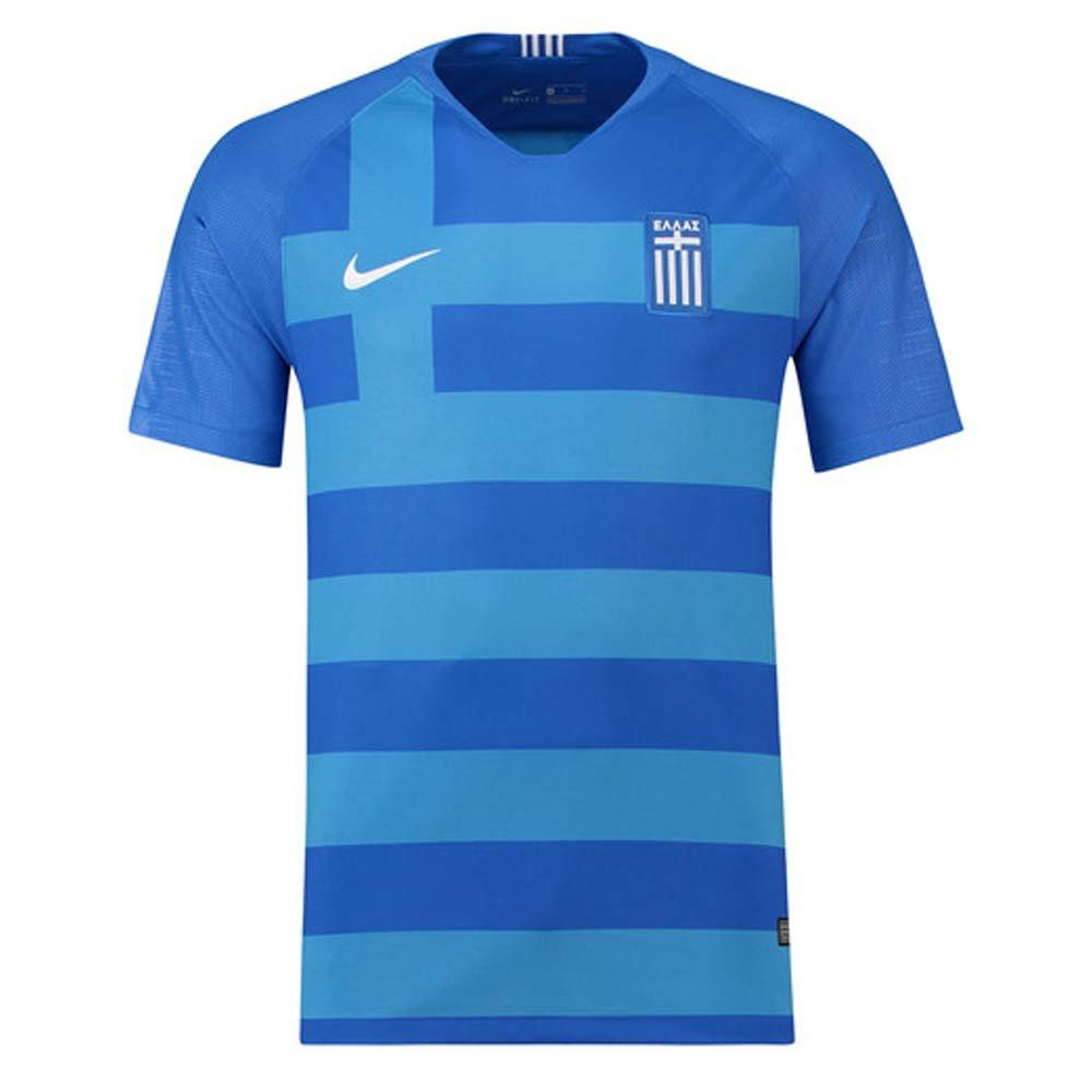 2018-2019 Greece Away Nike Football Shirt B07BTCDXZKBlue Medium 38-40\