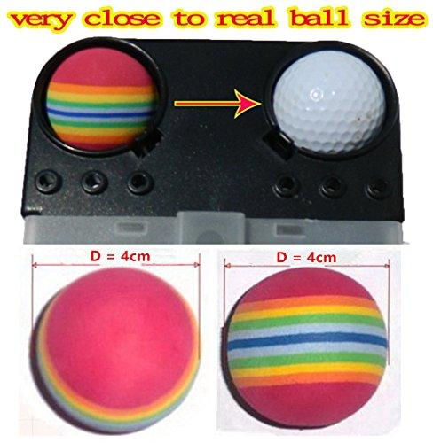 36pcs EVA ball foam ball rainbow practice golf training aids or cat toy by A99 Golf (Image #1)