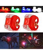 Autopon Bicycle Lights, Bike Light, LED Bike Lights Front and Back, Mountain Bike Lights, Dog Collar Light, Running Lights, LED Safety Lights, Navigation Lights for Marine Boat Bow Kayak