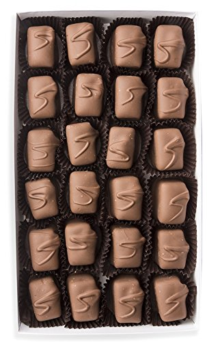 Mrs. Cavanaugh's Peanut Butter Truffle | Fancy Old Fashioned Milk & Dark Chocolate Gift Box Candy & Sweets | 4 oz Mixed Chocolate