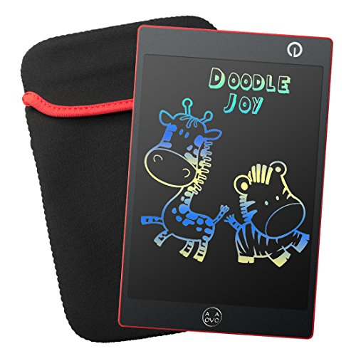 Colorful LCD Writing Tablet - Portable Writing Board (Red)