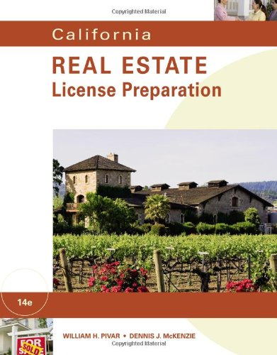 California Real Estate Preparation (California Real Estate License Preparation)