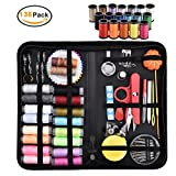 BEGOST Sewing Kit Portable Sewing Supplies Case with 138pcs Sewing Accessories Including 36pcs Mixed Color Sewing Spools Sewing Pins Pencil Buttons Scissors and Other Accessories