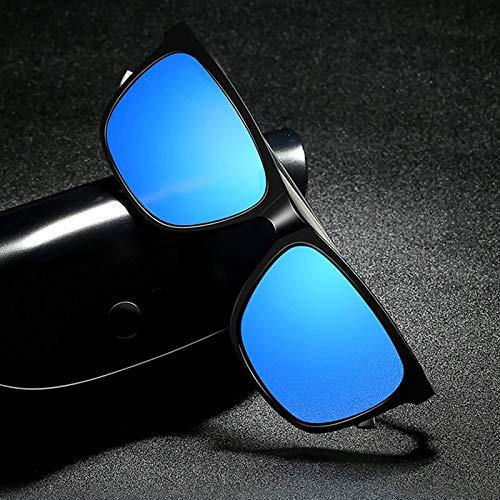 Gafas Cara Redonda Negro tablets Gris De Marco Conducción green Alta Gafas Sol Definición Polarización green Blue Gafas box blue De Sol De Masculina FKSW Sol De qC8vFv