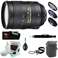 Nikon 28-300mm f/3.5-5.6G ED VR AF-S Nikkor Zoom Lens + Deluxe Accessory Kit