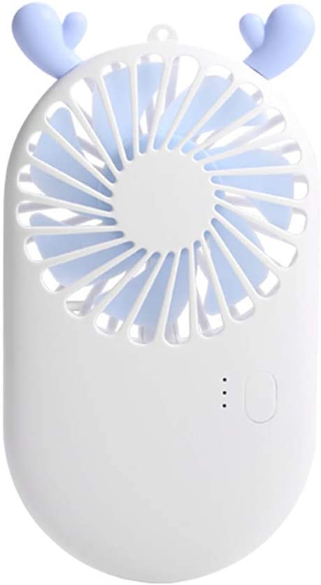 Dumanfs USB Portable Rechargeable Air Cooler Hand-held Outdoor Small Cute Mini Fan Able Carry Travel Fans