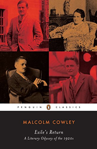 Where to find malcolm cowley exile's return?